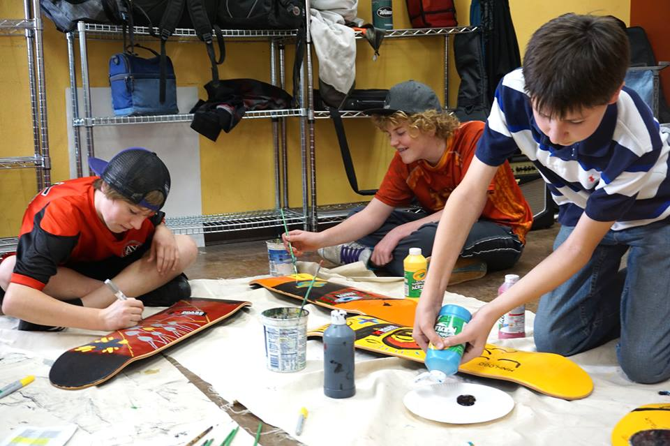 Skateboard creativity class fosters leadership among Tahoe-Truckee boys